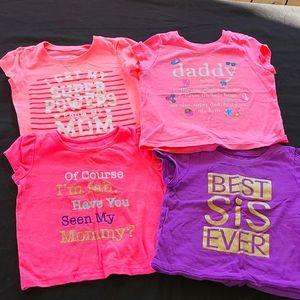 12-18 month girls tshirts